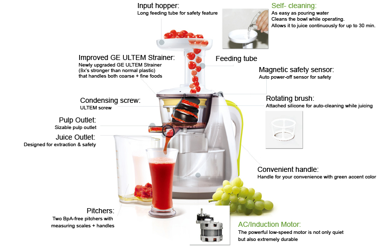 Hurom HU 100 Slow Juicer